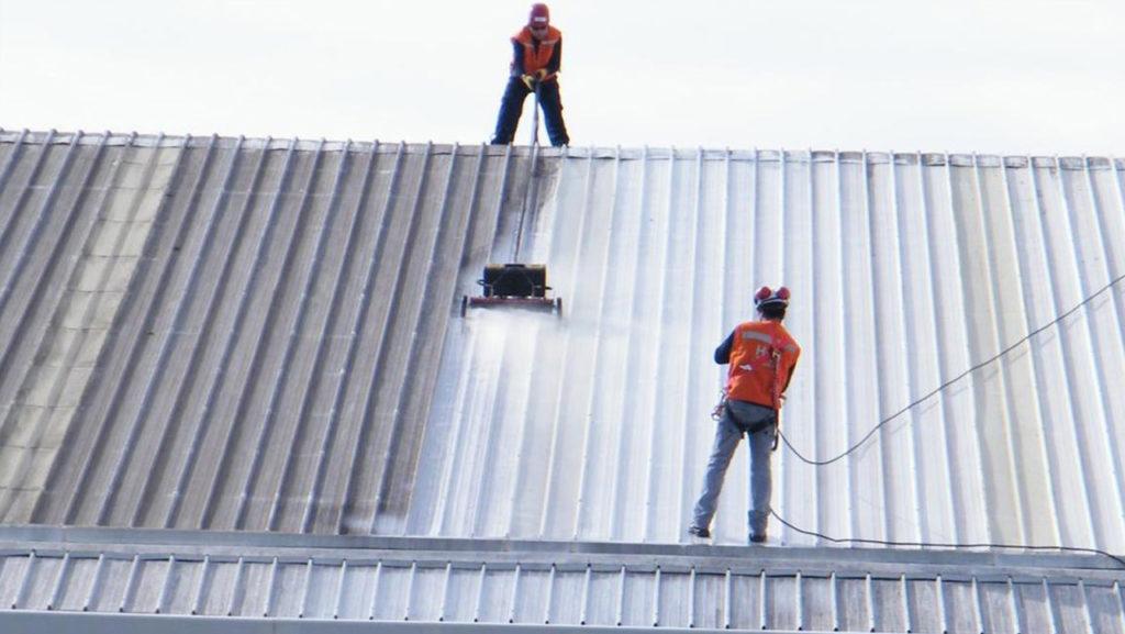 Limpieza de techos y azoteas en Monterrey