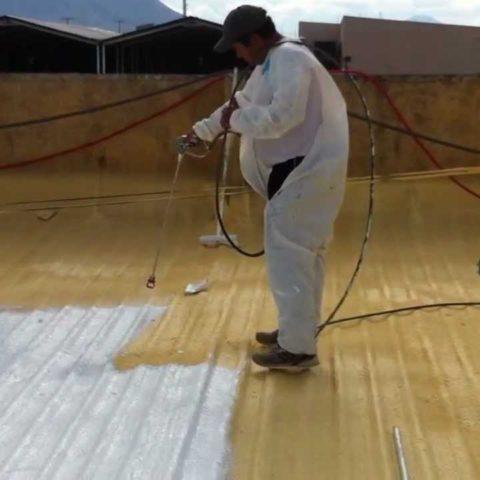 impermeabilizacion con poliuretano espreado Monterrey