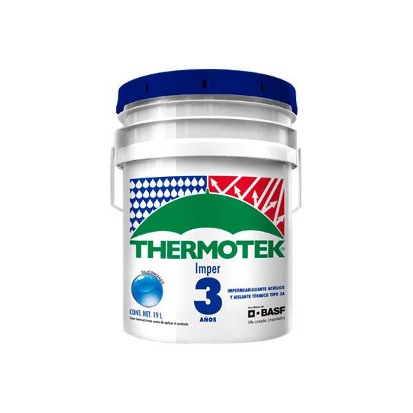 Impermeabilizante thermotek 3 años Monterrey