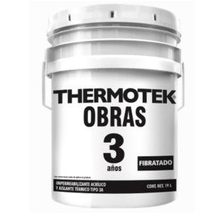 THERMOTEK OBRAS 3 AÑOS FIBRATADO