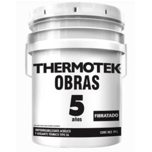 THERMOTEK OBRAS 5 AÑOS FIBRATADO